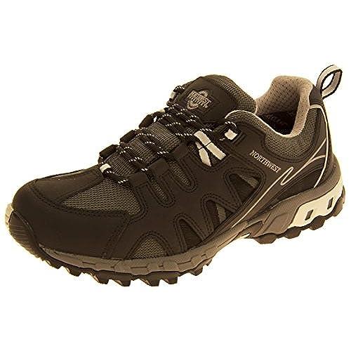 d3bdca164ab 85%OFF Mens NORTHWEST TERRITORY Leather Hiking Waterproof Shoes ...