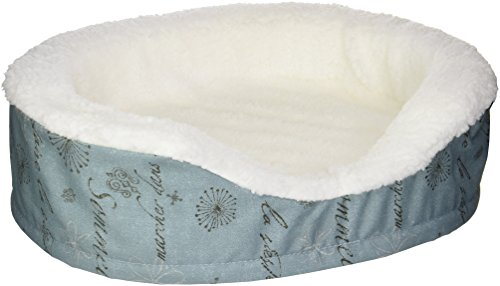 Midwest Homes for Pets Orthopedic Nesting Bed Script, Blue, 20