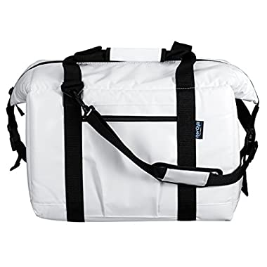 NorChill 48 Can Marine Boatbag Soft Cooler, White