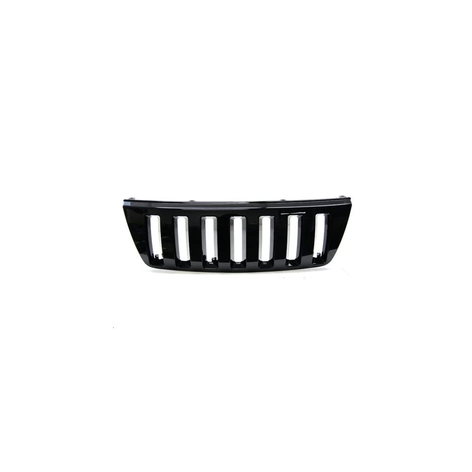 99 04 Jeep Grand Cherokee (Except Laredo Limited Sport) Off Road Style Front Grille Black