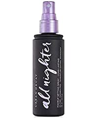 A lightweight, advanced makeup setting spray Helps keep makeup looking gorgeously just-applied for up to sixteen hours , without melting, fading or settling into fine lines. Perfect for all skin types