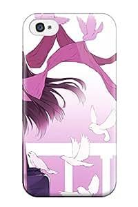 animal bird brown brown mogumo scarf Anime Pop Culture Hard Plastic iPhone 4/4s cases 8099988K556705324