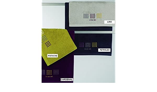 Antonio Miro-Toalla de baño Digital, 100 x 50 cm-Cardenal: Amazon.es: Hogar