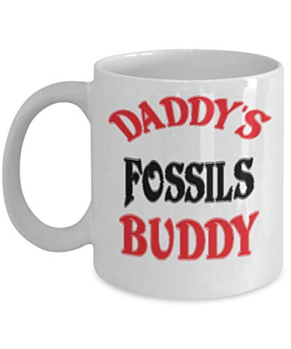 11oz Funny Daddy's Fossils Buddy Coffee Mug - Unique Cool Cute Father's Day Gifts Trust Me Great Novelty Gift Dad,al4241 -