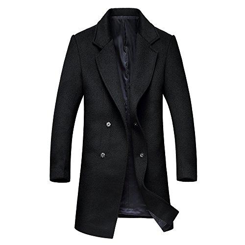 Slim Wool Coat - 5
