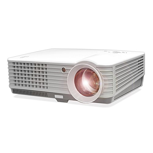 Portable Widescreen Projector Adjustable Projection