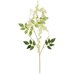 Mavee 3.6 Feet Artificial Silk Wisteria Vine Ratta Silk Hanging Flower Wedding Decor,12 Pieces 62