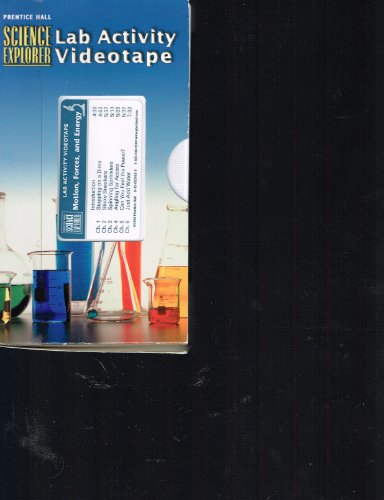 (Prentice Hall SCIENCE Explorer Lab Activity Videotape (MOTION, FORCES, AND ENERGY))
