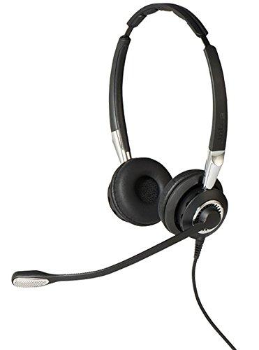 Jabra Biz 2400 II USB Duo BT Binaural Diadema Negro, Plata - Auriculares con micrófono