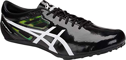 ASICS Sonicsprint Men's Track & Field Shoe, Black/White, 7 M US by ASICS (Image #1)