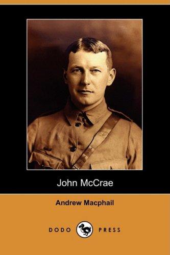 John McCrae (Dodo Press) ebook