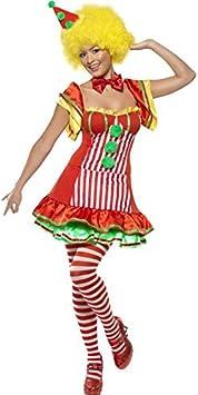 Disfraz de payaso boo-boo mujer talla m: Amazon.es: Juguetes y ...