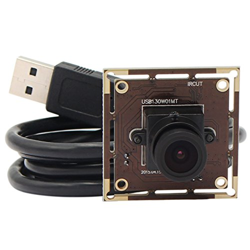 ELP USB Camera 2.8mm Lens 960h, Camera Module for Low Light on Linux/Android/Windows/mac