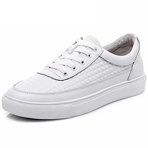 En Zapatos Bromista Con Blanco Suela Primavera De Zapatos Cuero Plano Coreano Zapatos Mujer Zapato B Espesa Casuales 5wPqT7BOx