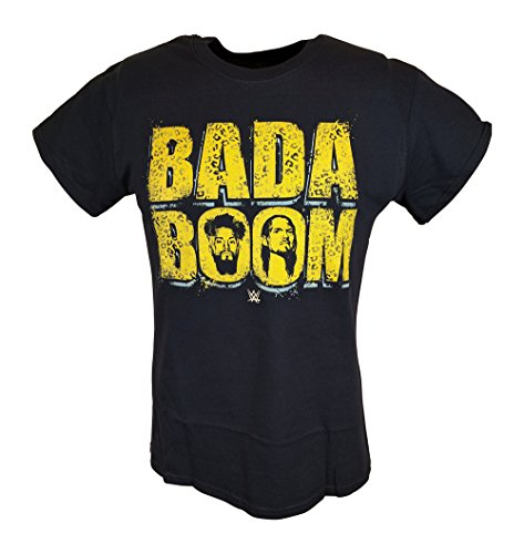 Enzo Cass Bada Boom Realest Guys In The Room WWE Mens T-shirt-XXL by WWE
