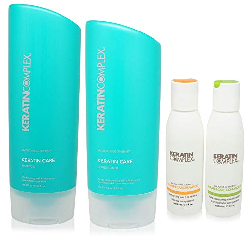 Keratin Complex Keratin Care Shampoo n Conditioner 13.5 Ounces and Travel Set ()