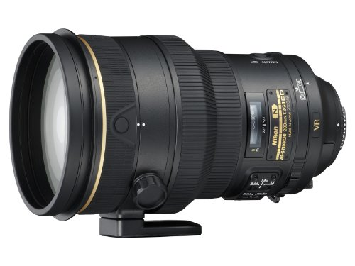Nikon AF FX NIKKOR 200mm f/2G ED Vibration Reduction II DSLR Lens with Auto Focus for Nikon DSLR Cameras