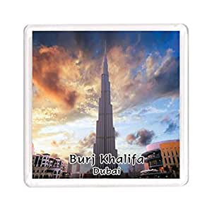 Ajooba Dubai Souvenir Magnet Burj Khalifa 0114