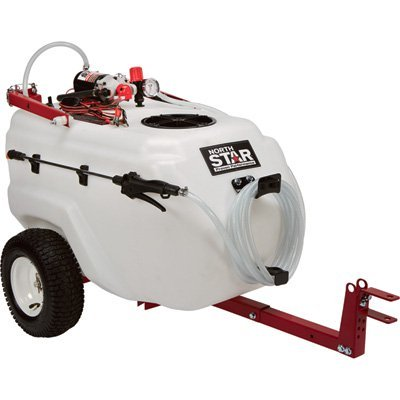 - NorthStar Tow-Behind Boom Broadcast and Spot Sprayer - 31 Gallon, 2.2 GPM, 12 Volt DC