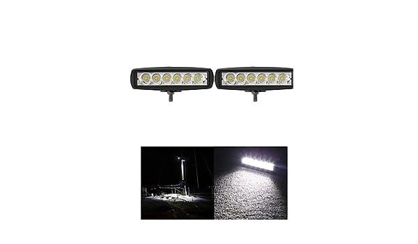 Alan 2pcs 6 pulgadas 18w 12 V LED Cree place-Barra luminosa de ...