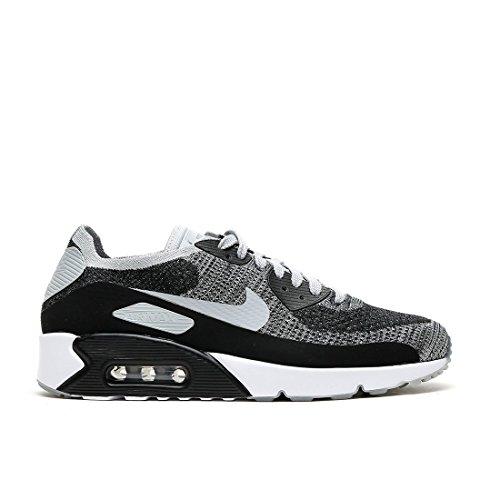 Nike Men's Air Max 90 Ultra 2.0 Flyknit Black/Pure Platinum 875943-005