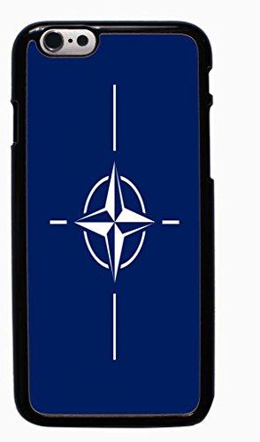 The North Atlantic Treaty Organization flag Hard Case for Apple iPhone 6 6G 4.7 ( Sugar Skull )