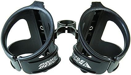 Profile Design Aqua Rack ii Dual Water Bottle Cage with Co2 Cartridge mount