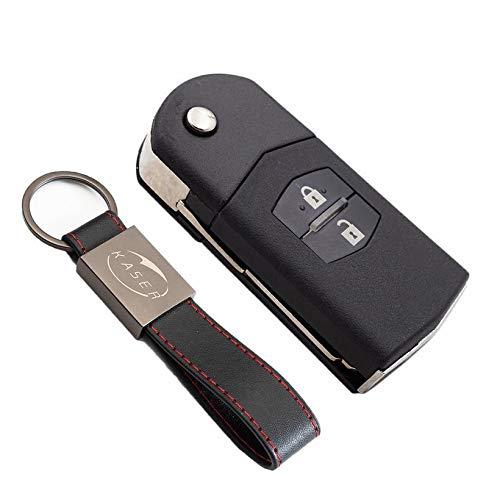 Carcasa/Llave/para/Mazda/-/Funda/Mando/a/Distancia/2 Botones/para/Coche/Mazda 3 5 6 M6 RX8 MX5