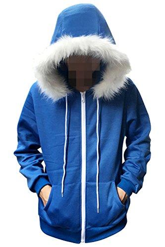 [New Style Cosplay Zipper Hoodie Sweatshirt Hooded Coat Costume] (Boys Skeleton Sweatshirt Hoodie Costumes)
