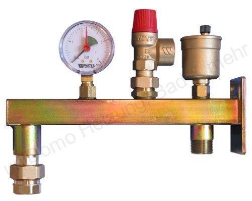 WATTS GAG groupe de connexion vasculaire, Support pour vases d'expansion de 8 à 50 litres. Support pour vases d'expansion de 8 à 50 litres.