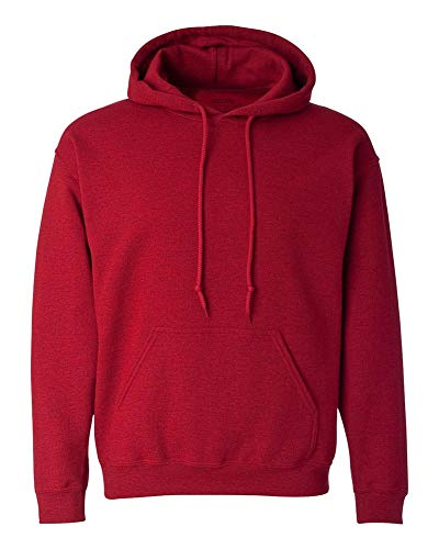Joe's USA - Big Mens Size Five Extra Large Hoodie Sweatshirts-5XL in Antique Cherry ()