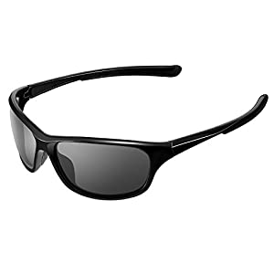 BELLBESSON Polarized Sports Sunglasses for Men Women Baseball Running Cycling Fishing Golf Outdoor Activities Tr90 Frame