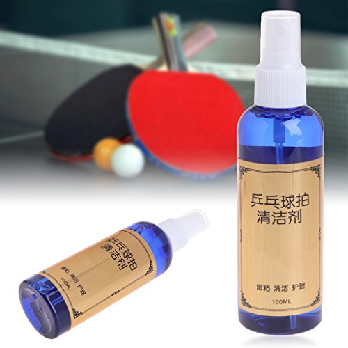 Everything Jin 100ml Cleaning Agent Cleaner For Table Tennis Pingpong Rubber Racket Bats