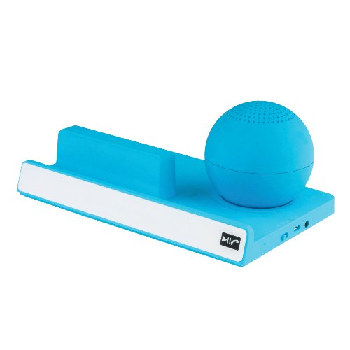 Supersonic SC-1403BTBLUE Portable Bluetooth Speaker with Stand