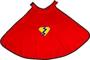 Gizmos Grandes Imitaciones - capa para disfraz de niño (Small / Medium, Red) (a partir de 2 años)