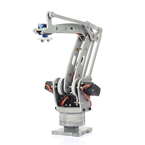 SainSmart 4-Axis Desktop Robotic Arm, Assembled for Arduino UNO MEGA2560