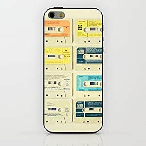 DDL Audio Tape Pattern hard Case for iPhone 6