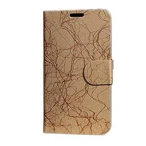 conseguir Rayo Rayas PU funda de piel de cuerpo completo para Samsung N7100 Note II , Oro