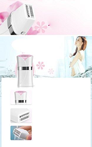 Electric Shaver Epilator Lady Shaver,Ladies Razor Bikini Trimmer for Face/Body/Underarms/Legs