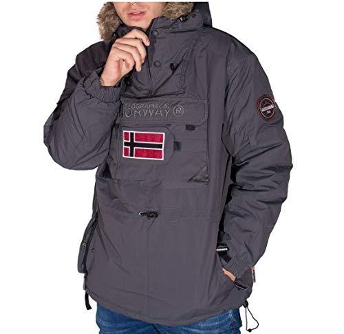 TALLA 3XL. Geographical Norway Cazadora BIBLOS Men Canguro