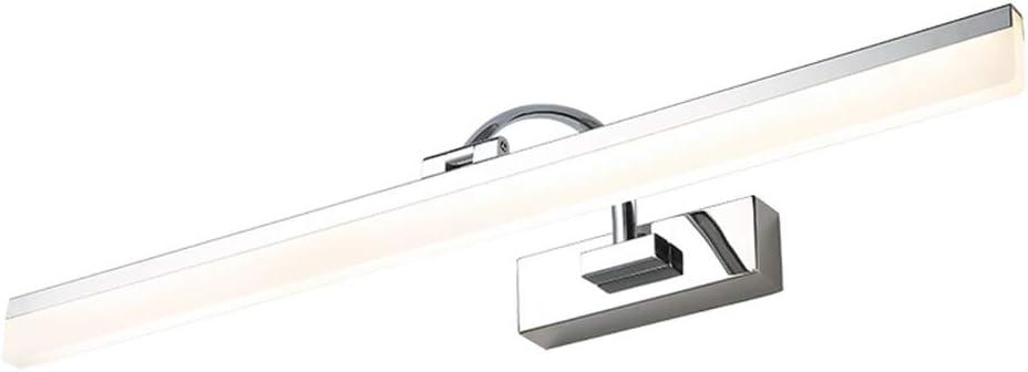 Size : 40cm Badezimmer Schlafzimmer Make-up Dimmbare Wandleuchten MJJ-LED Spiegelleuchte LED Spiegel Scheinwerfer Energieklasse A+