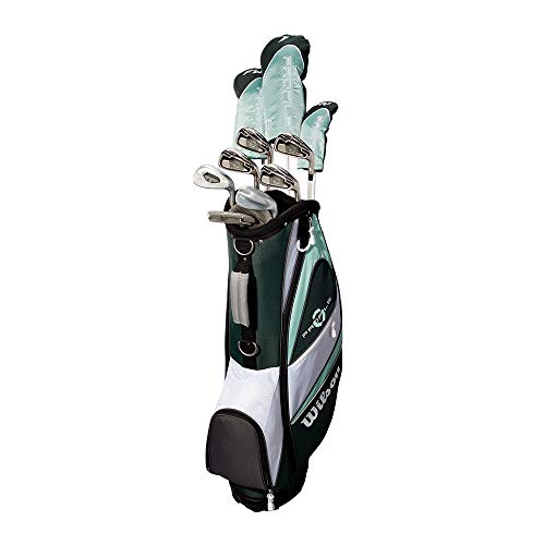 Wilson Profile XLS Women's RH Flex Graphite Golf Club Package Set with Bag, Teal