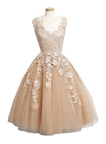 Knee Length Homecoming Dresses - 3