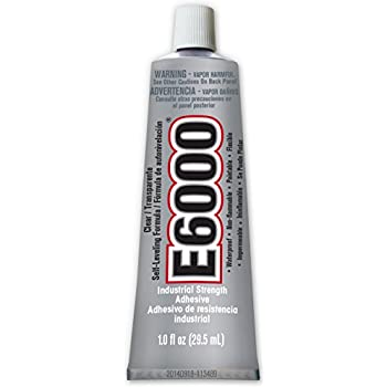 E6000 231012 Medium Viscosity Adhesive, 1.0 fl oz