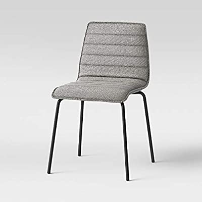 Enjoyable Amazon Com Salk Modern Quilted Dining Chair Project 62 Short Links Chair Design For Home Short Linksinfo
