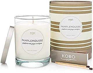 product image for Kobo Candles Kobo Soy Candle, Pamplemousse