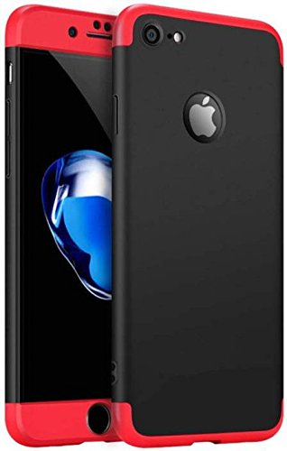 promo code bcb2d be08f Dream2Cool GKK 3 in 1 Full Protected Matte Back Cover for Apple iPhone 6  and 6S Plus (Black and Red)
