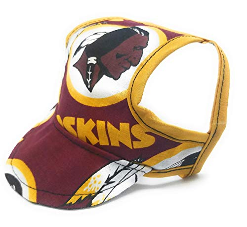 Dog Hat - Washington Redskins Sports Fabric ()