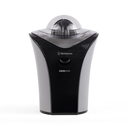 Westinghouse WJC1BGA Select Series Electric Citrus Juicer, Black, Stainless Steel