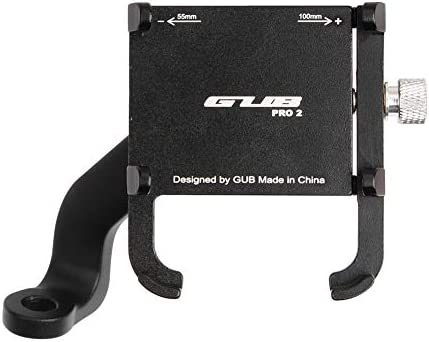 GUB PRO2 MD Motorcycle Phone Holder Rotatable Electromobile Phone Mount 55-100 mm Phone Stand Bracket for Electric Cars